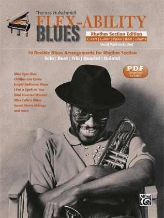 FLEX-ABILITY BLUES Rhythm Section Edition (C Instruments)