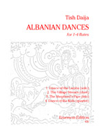 ALBANIAN DANCES (2 playing scores)