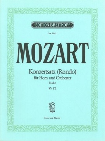 CONCERT RONDO in Eb major KV371