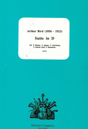 SUITE in D  major (score & parts)