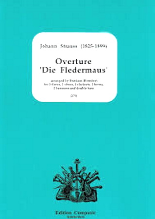 OVERTURE 'Die Fledermaus' (score & parts)