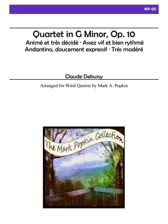 QUARTET in G minor, Op.10