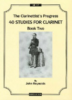 THE CLARINETTIST'S PROGRESS 40 studies Book 2