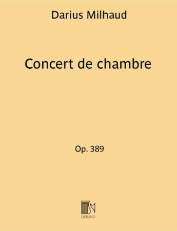 CONCERT DE CHAMBRE Op.389; Le Remouler, Le Marchand de Sorbets