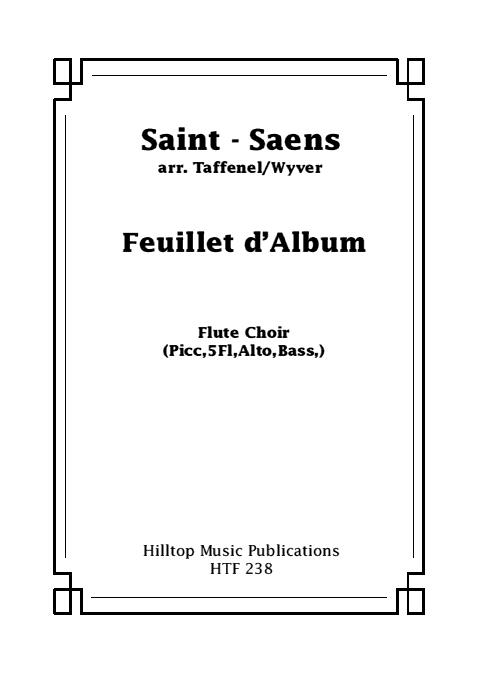 FEUILLET D'ALBUM Op.81