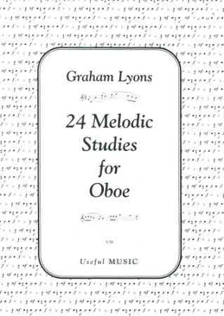 24 MELODIC STUDIES FOR OBOE