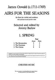 AIRS FOR THE SEASONS: Spring