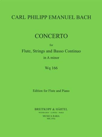 CONCERTO in A minor Wq.166; H431