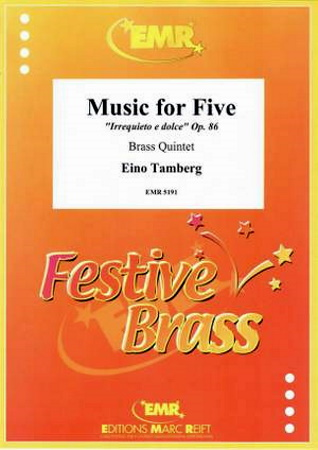 MUSIC FOR FIVE Op.86 (score & parts)