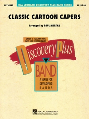 CLASSIC CARTOON CAPERS (score & parts)