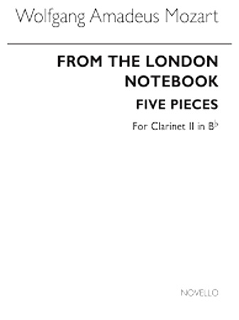 FROM THE LONDON NOTEBOOK clarinet 2