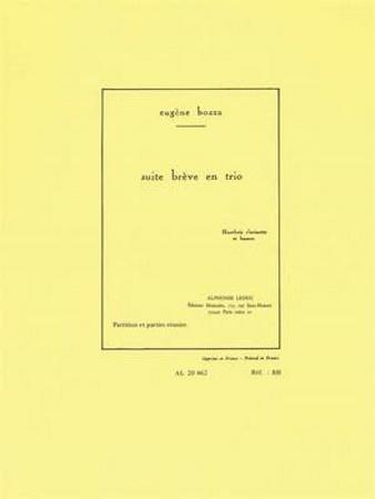 SUITE BREVE EN TRIO Op.67 (score & parts)