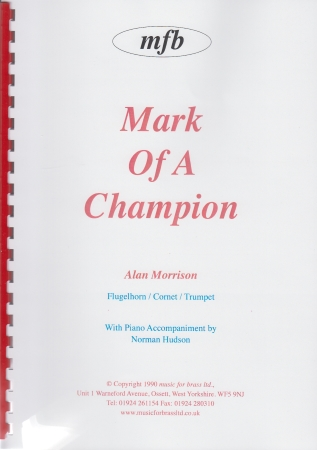 MARK OF A CHAMPION
