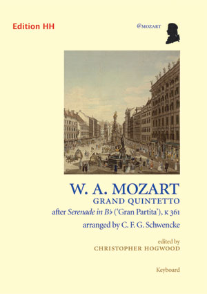 GRAND QUINTETTO after Serenade in Bb 'Gran Partita' K361 score & parts