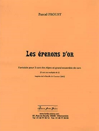 LES EPERONS D'OR (score & parts)