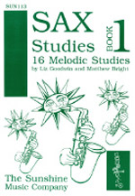 SAX STUDIES Book 1 16 Melodic Studies