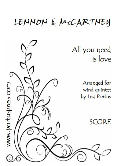 ALL YOU NEED IS LOVE (score & parts)