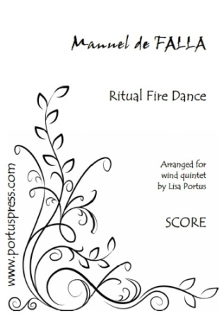 RITUAL FIRE DANCE (score & parts)