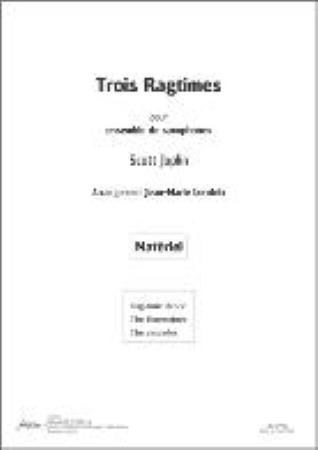 TROIS RAGTIMES set of parts