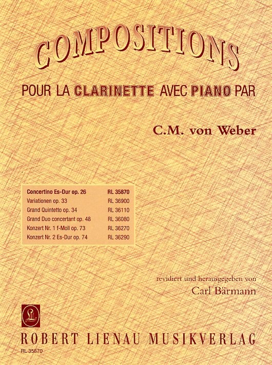 CONCERTINO in Eb major Op.26