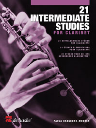 21 INTERMEDIATE STUDIES for Clarinet