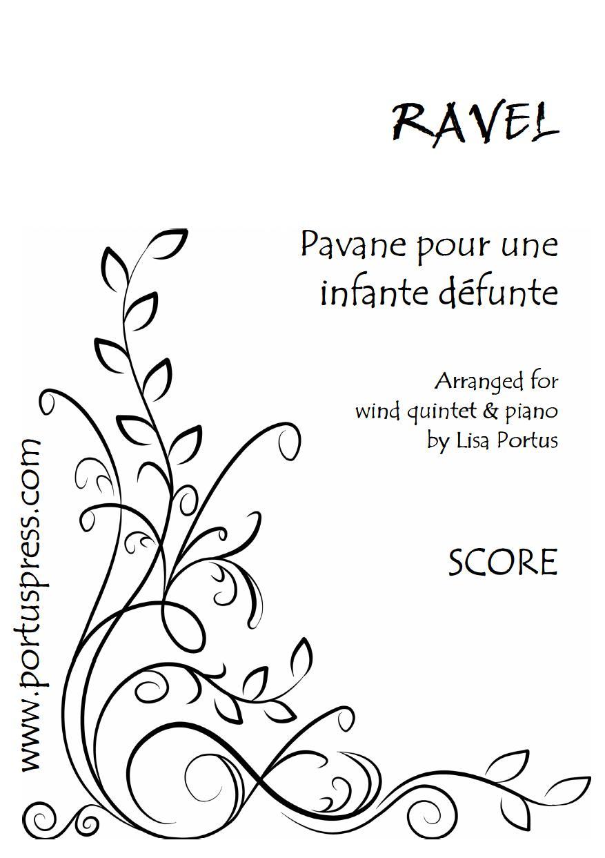 PAVANE POUR UNE INFANTE DEFUNTE (score & parts)