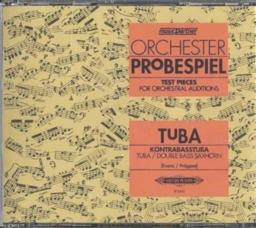 ORCHESTER PROBESPIEL for Tuba CD