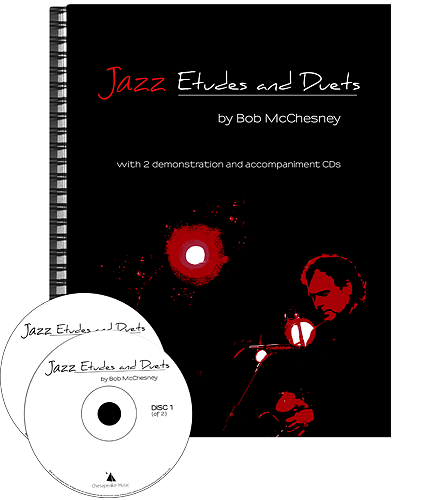 JAZZ ETUDES AND DUETS + 2CDs (bass clef)