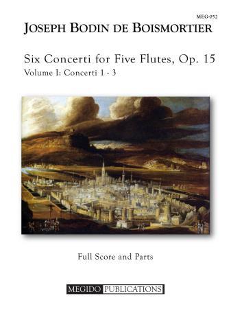 SIX CONCERTI FOR FIVE FLUTES Op.15, Volume I
