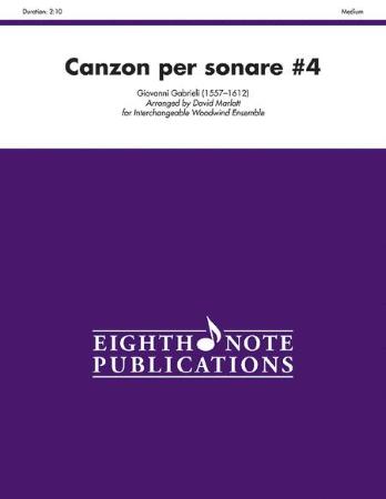 CANZON PER SONARE No.4