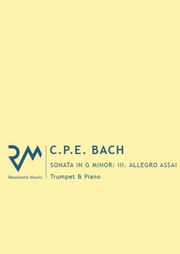SONATA in G minor: III. Allegro Assai (H47)