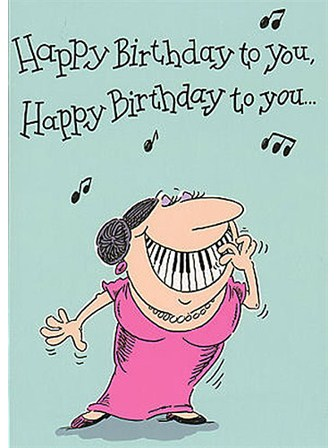 BIRTHDAY CARD Adult Female
