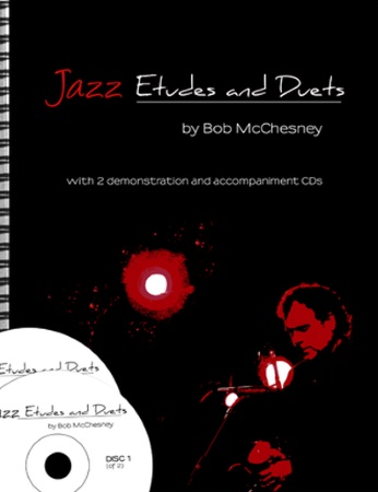 JAZZ ETUDES AND DUETS + 2CDs (C Edition)