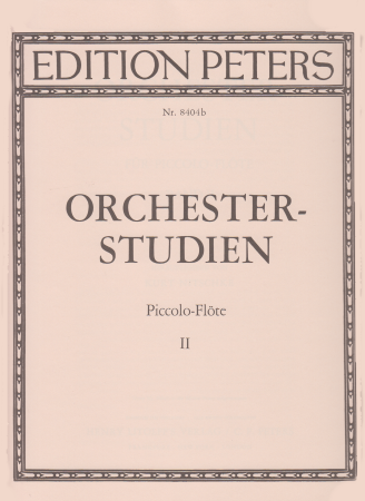 ORCHESTRAL STUDIES FOR PICCOLO Volume 2