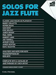 SOLOS for Jazz Flute