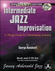 INTERMEDIATE JAZZ IMPROVISATION + CD