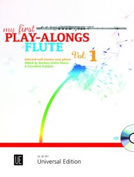 MY FIRST PLAY-ALONGS Volume 1 + CD