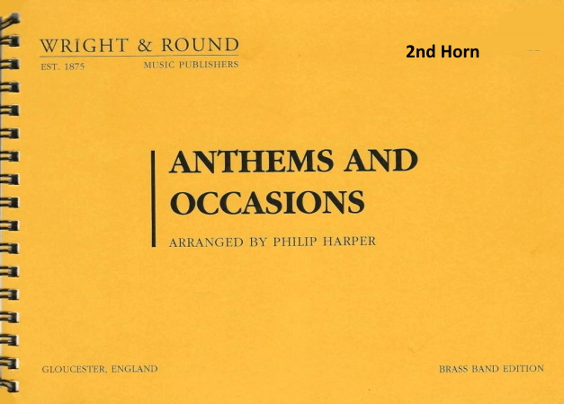 ANTHEMS AND OCCASIONS 2nd horn