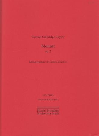 NONET in F minor (score & parts)