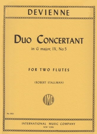 DUO CONCERTANT in G Op.IX/5