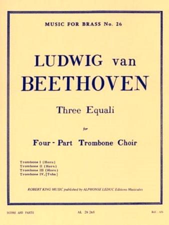 THREE EQUALI (score & parts)