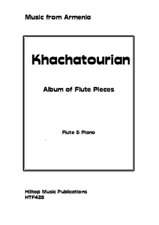 ALBUM OF FLUTE PIECES