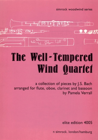 THE WELL-TEMPERED WIND QUARTET (score & parts)