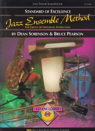 STANDARD OF EXCELLENCE Jazz Ensemble Method + CD 2nd Tenor Sax