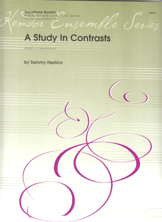 A STUDY IN CONTRASTS (score & parts)