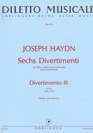 DIVERTIMENTO No.3 in C