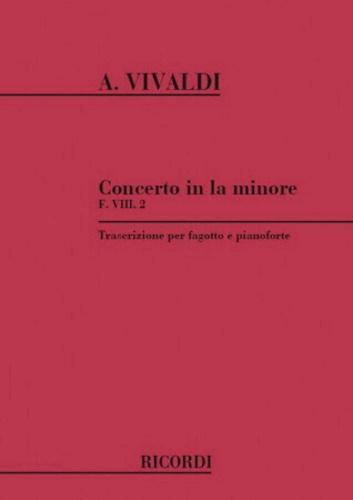 CONCERTO in A minor FVIII/2 PV70 RV498 Op.45 No.3