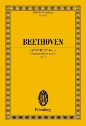 SYMPHONY No.8 in F major, Op.93 (study score)