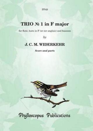 TRIO No.1 in F major score & parts