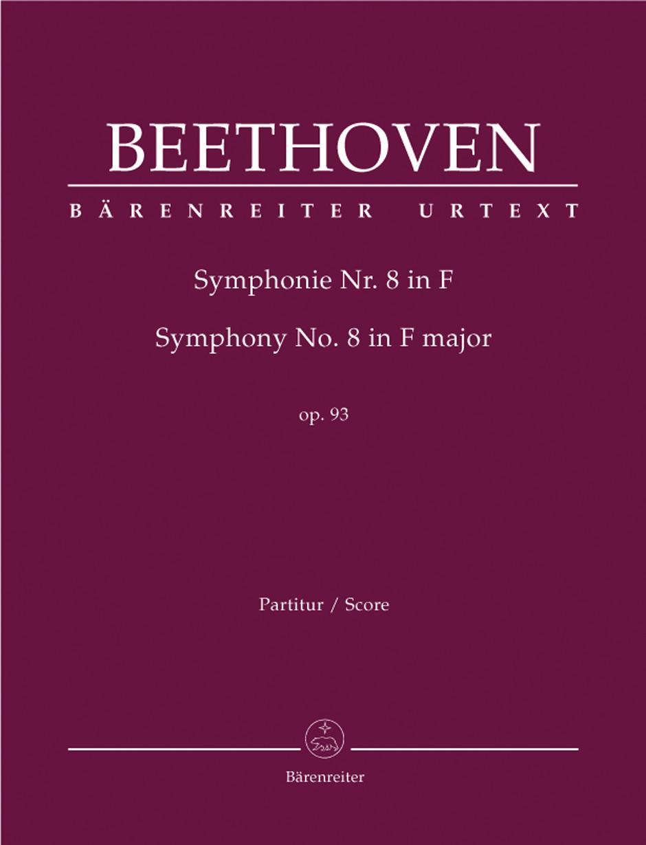 Symphony No.8 - Large Score paperback
